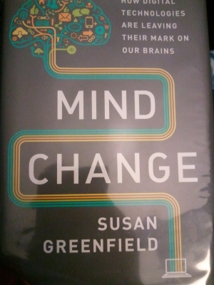Cover of book Mind Change by Susan Greenfield