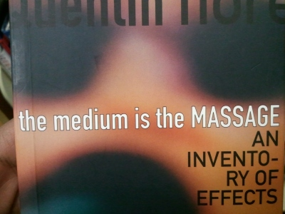 Cover of book The Medium Is The Massage by Marshall McLuhan and Quentin Fiore